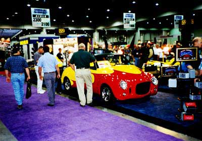Rodster at the SEMA show