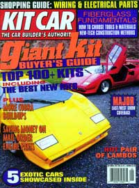 What Is Kit Car Magazine Saying About The Rodster Street Rod